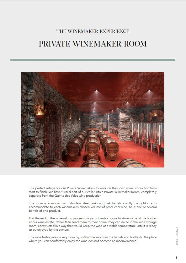 PRIVATE WINEMAKER ROOM